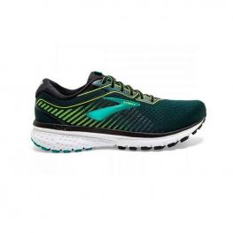 Zapatillas Brooks Ghost 12 110316 - Black/lime/blue Gras