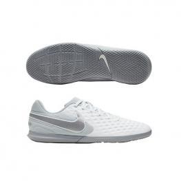 Botas Nike Legend 8 Club Ic At6110 - White/chrome-Pure Platinu