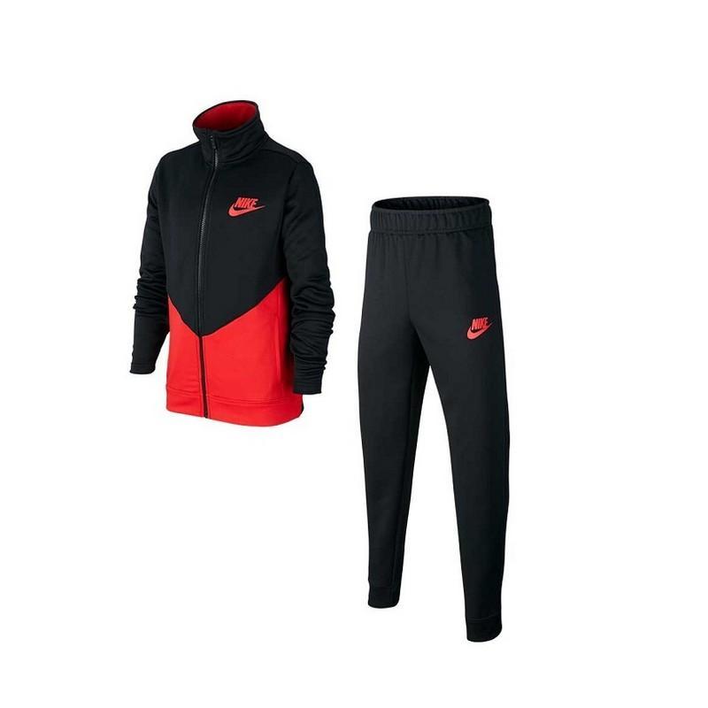 Chándal Nike Core Ste Futura Bv3617 - Black/university Red/univ