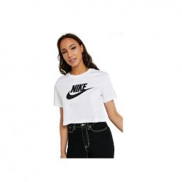 Camiseta Nike Essential Women'S Bv6175 - White/black