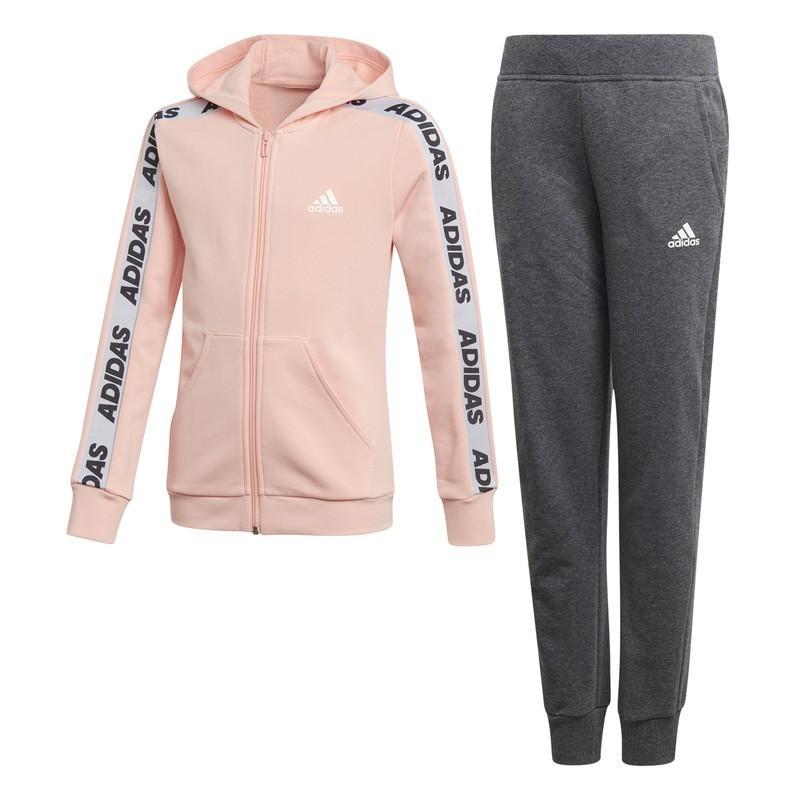 Chándal Adidas Yg Hood Cot Ts Ed4636 - Glopnk/white