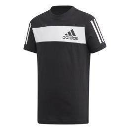 Camiseta Adidas Yb Sid Tee Ed6505 - Black/white/black