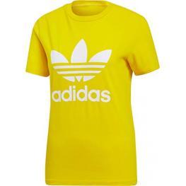 Camiseta Adidas Trefoil Tee Ed7495 - Yellow