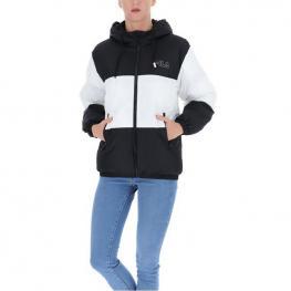 Abrigo Fila Women Lavita Padded Jacket 683174 - Black-Bright White