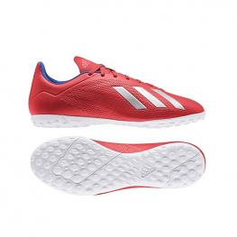 Botas Adidas X 18.4 Tf Bb9413 - Actred/silvmt/boblue