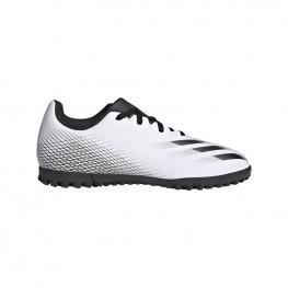 Botas Adidas X Ghosted Tf J Fw6801 - Ftwwht/cblack/silvmt