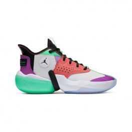 Botas Nike Jordan React Elevation Ck6618 - White/black-Hyper Violet-