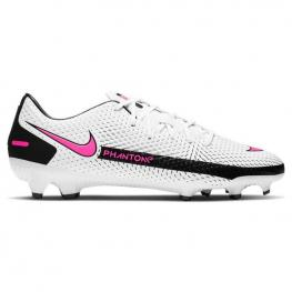 Botas Nike Jr Phantom Academy Ag Ck8475 - White/pink Blast-Black