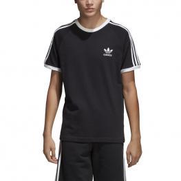 Camiseta Adidas 3-Stripes Tee Cw1202 - Negro