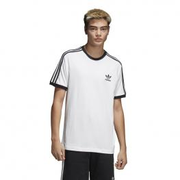 Camiseta Adidas 3-Stripes Tee Cw1203 - Blanco