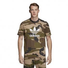 Camiseta Adidas Camo Tee Dv2067 - Multco/utiblk