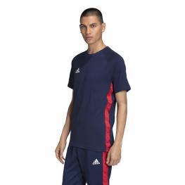 Camiseta Adidas Tan Tape Tee Fm0853 - Navblu