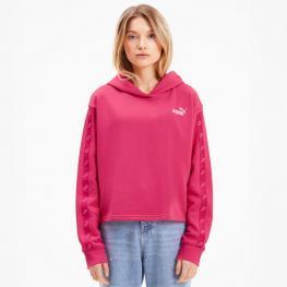 Sudadera Cropped Hoodiepuma 583613 - Glowing Pink