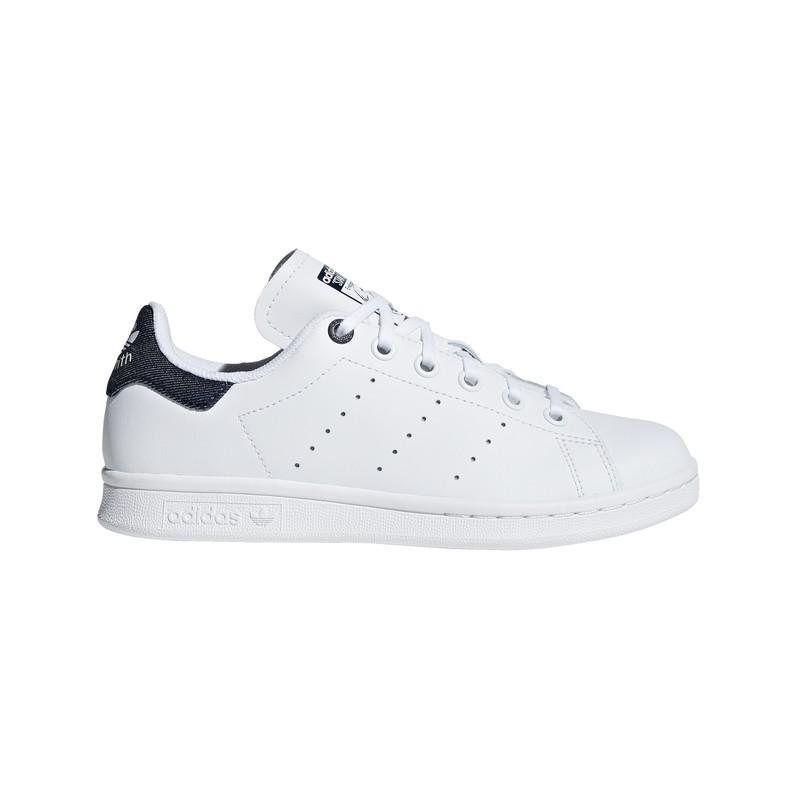 Zapatillas Adidas Stan Smith J Ee6173 - Ftwwht/ftwwht/conavy