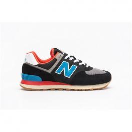 Zapatillas New Balance Luxury Ml574 - Black (001)